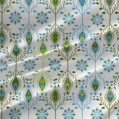 Marseilles - Floral Fabric By The Yard
