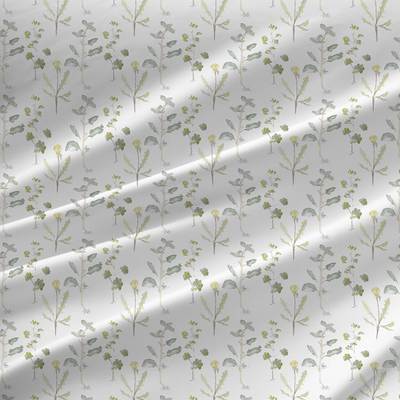 Elisa - Floral  Fabric by the Yard