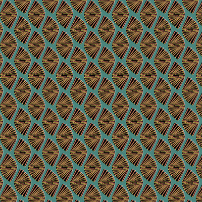 Funky Geo - Geometric Fabric By The Yard