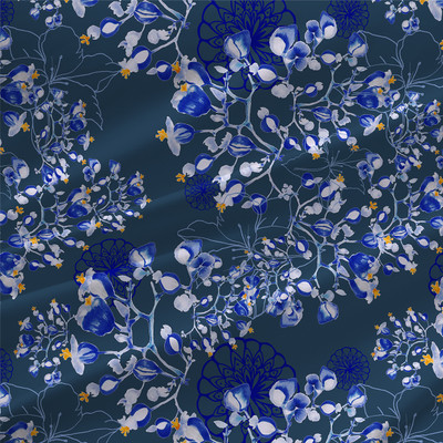 Romantical - Floral Fabric by the Yard