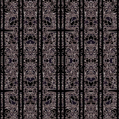 Tribe - Abstract Fabric By The Yard