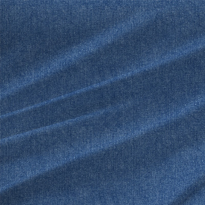 Vintage Denim Texture Fabric by the Yard in Stonewash Blue