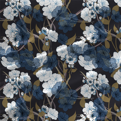 Fauna - Floral Fabric By The Yard