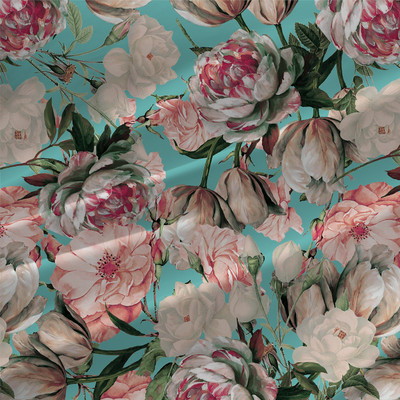 Bloom - Floral Fabric by the Yard