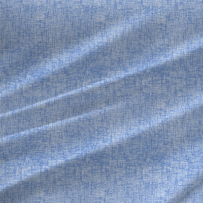 Metro Textured Fabric by the Yard in Bright Blue colorway