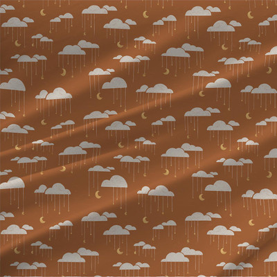 Clouds Mini fabric by Amy MacCready