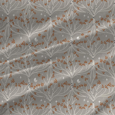Root and Branch Mini fabric by the yard (Beige)