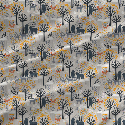 Night Forest Mini fabric by the yard