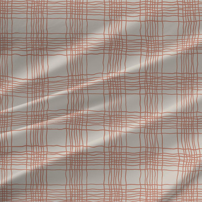 Oberon Plaid fabric by the yard