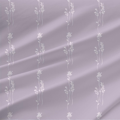 Simple Stroll Floral Fabric by the Yard in Violet