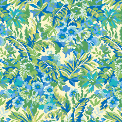 Garden - Floral Fabric By The Yard - Emerald