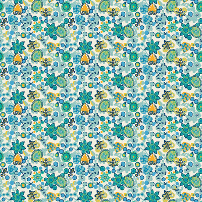 Festiva Mini - Floral Fabric By The Yard