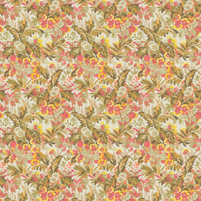 Garden Mini floral design in Leaf colorway