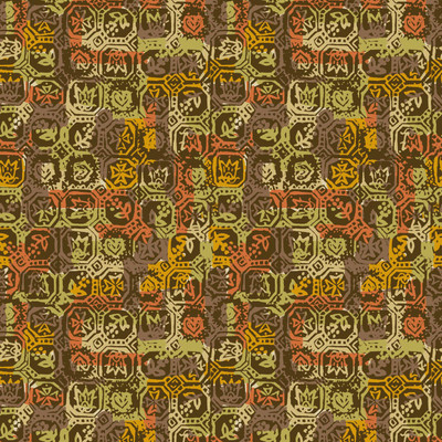 Patchwork - Abstract Plaid Fabric By The Yard