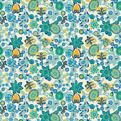 Festiva - Floral Fabric By The Yard