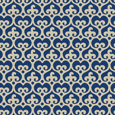 Mod Damask - Damask Fabric By The Yard