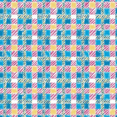 Crosshatch - Plaid Fabric By The Yard
