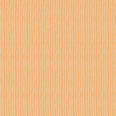 Code stripe fabric in orange colorway
