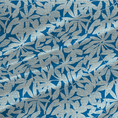 Everglade - Floral Fabric by the Yard in Lake Colorway