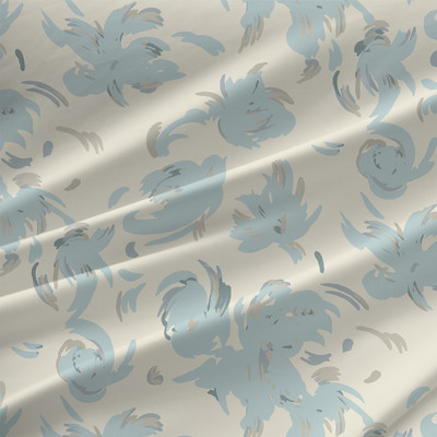 Cumulus Grande Fabric by the Yard in Dreamy Colorway