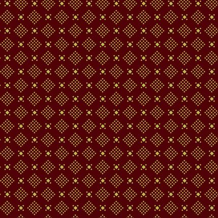 Dice Geometric Fabric Design (Earth colorway)