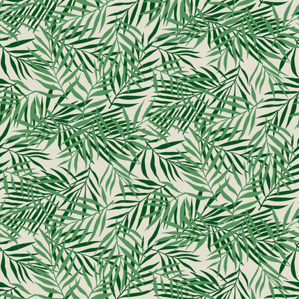 Palm Fabric Design (Green colorway)