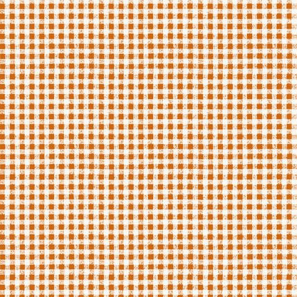 Check It Out Fabric Design (Frosted Pumpkin colorway)