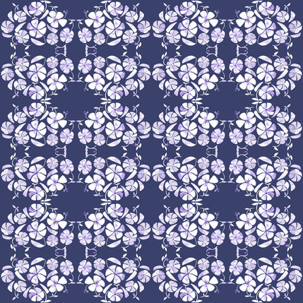 Poppy Floral Fabric Design (Nauset colorway)