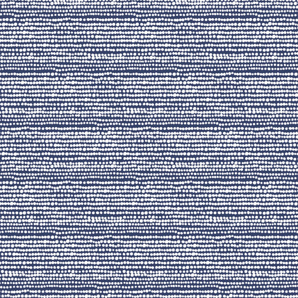 Beads Fabric Design (Blue colorway)