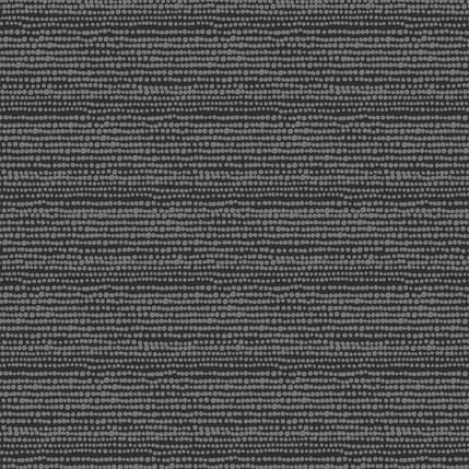 Beads Fabric Design (Gray on Black colorway)
