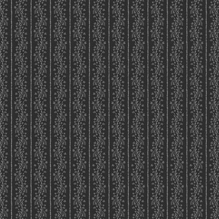 Matisse Stripe Fabric Design (Gray Black colorway)