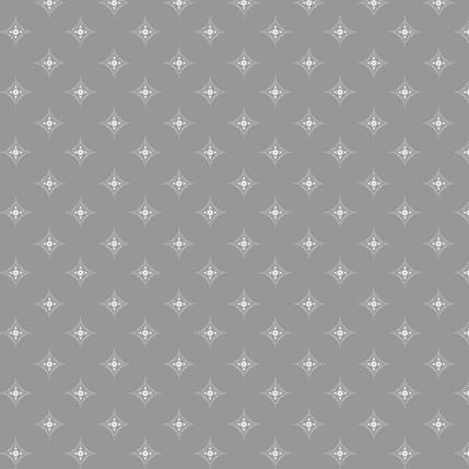 Diamond Medallions Fabric Design (Medium Gray colorway)