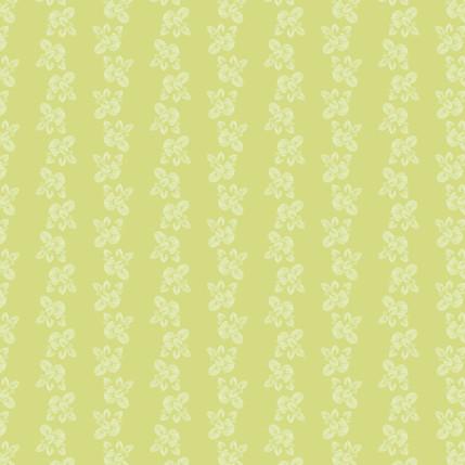 Brunnera Fabric Design (Avocado colorway)