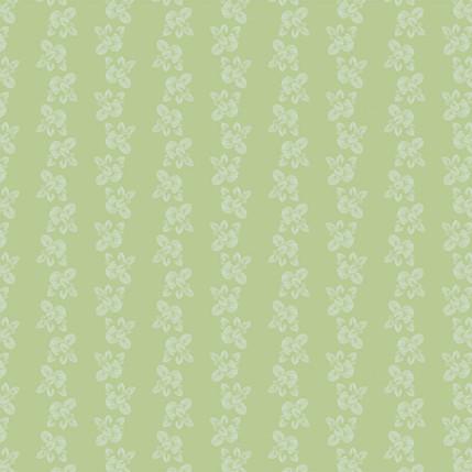 Brunnera Fabric Design (Deep Green colorway)