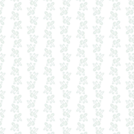 Brunnera Fabric Design (Natural colorway)