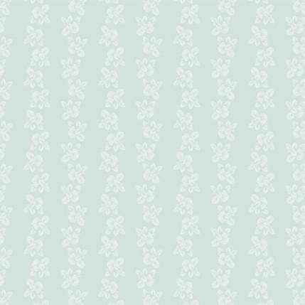Brunnera Fabric Design (Pale Blue colorway)
