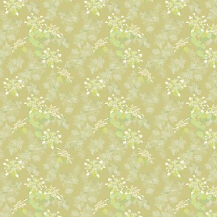Lace Cap Fabric Design (Sand colorway)