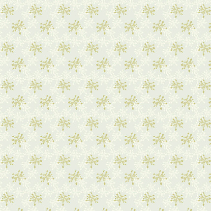 Lacey Silhouette Fabric Design (Dusty Blue colorway)