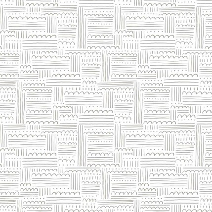 Dotty Clouds Fabric Design (White colorway)