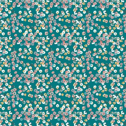 Watercolor Bloom (Tropical colorway)