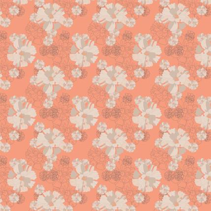 In Full Bloom (Coral colorway)