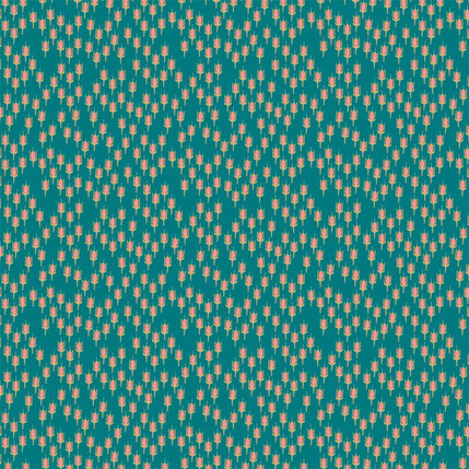 India Fabric Design (Tropical colorway)