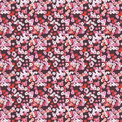 Watercolor Bloom (Rose Wood colorway)