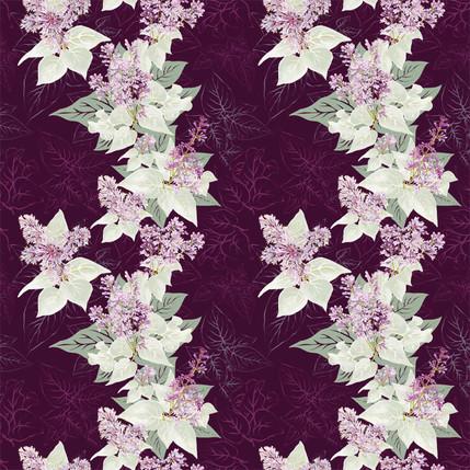 Lilac Sunday (Plum colorway)