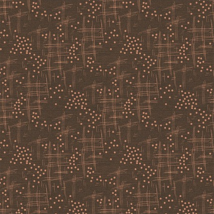 Wind Fabric Design (Dark Brown colorway)