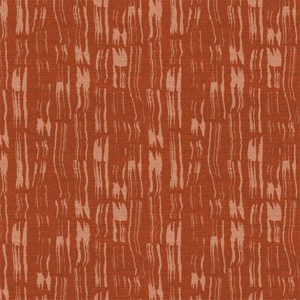 Tree Bark Fabric Design (Burnt Red colorway)