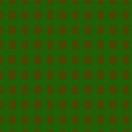 Breezeblock Plaid Fabric Design (Fir colorway)