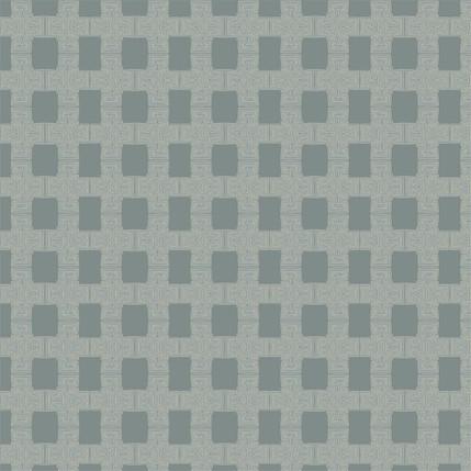Breezeblock Plaid Fabric Design (River colorway)