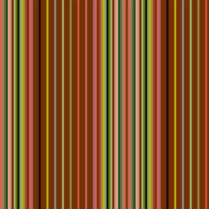 Market Stall Stripe Fabric Design (Cayenne colorway)