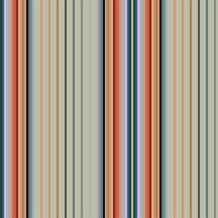Market Stall Stripe Fabric Design (Chamomile colorway)